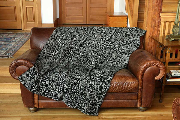 African Mudcloth Blanket