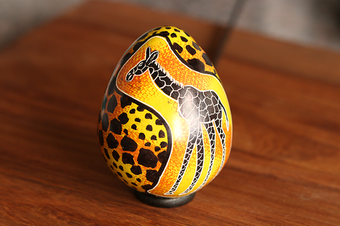 Solid Soapstone Easter Egg
