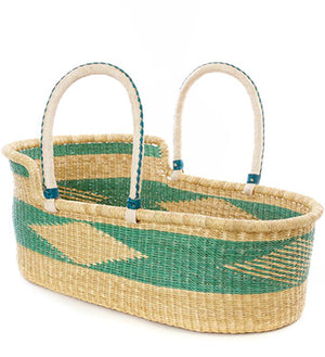 Handwoven Baby Bassinets / Moses Baskets