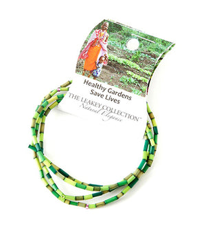 Green Leakey Bracelet for Healthy Gardens