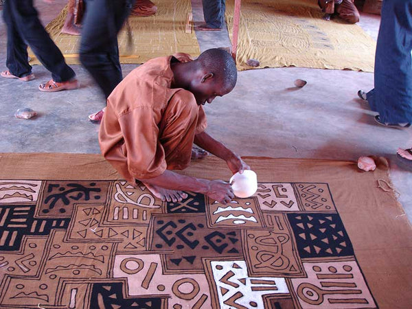 African Mud Cloth & Bogolan Fabric - African Decor ...