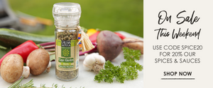 ON SALE THIS WEEKEND: USE CODE SPICE20 FOR 20% OFF OUR AFRICAN SPICES AND SAUCES