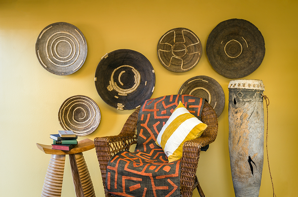 African Decor and Baskets
