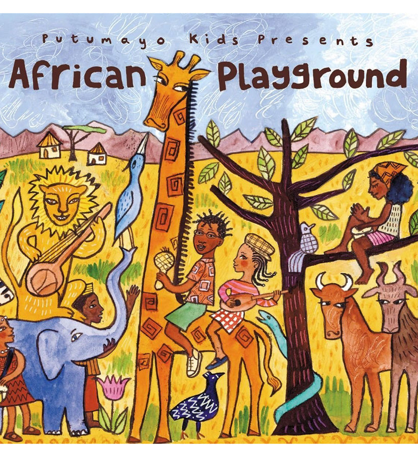 African Playground Award-Winning CD