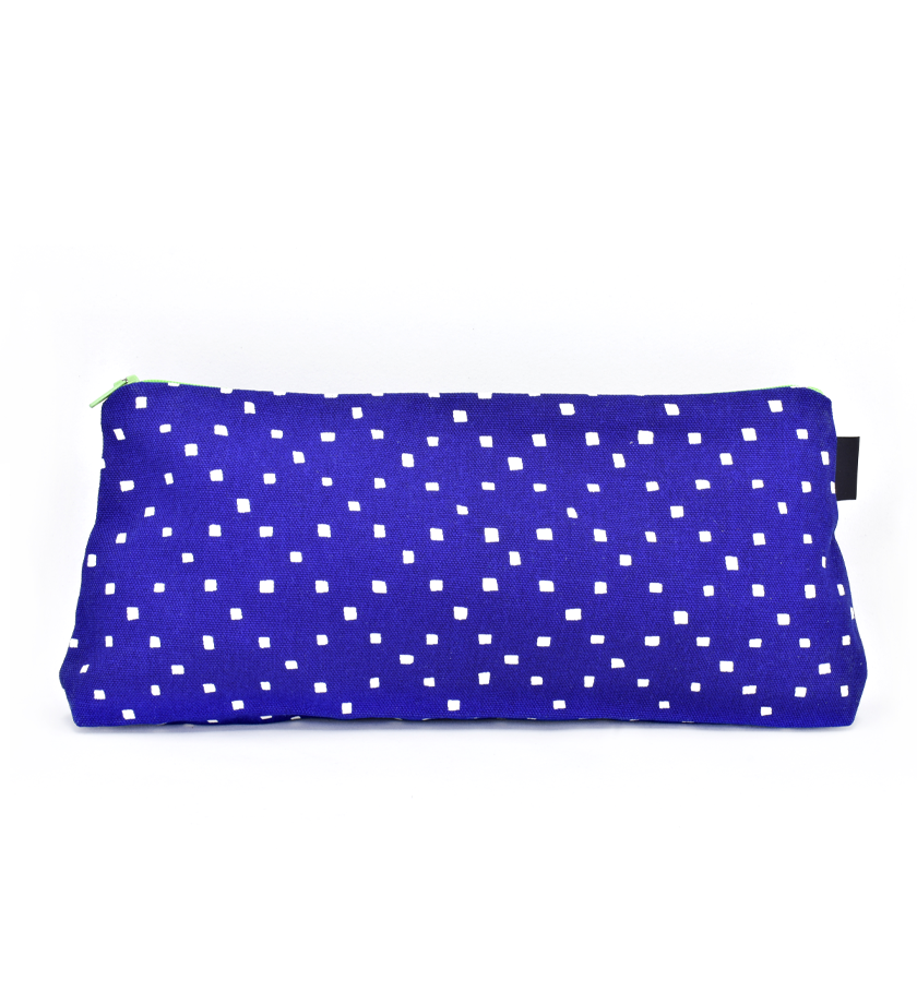"Azure ""Impossible Until Done"" Nelson Mandela Pouch"