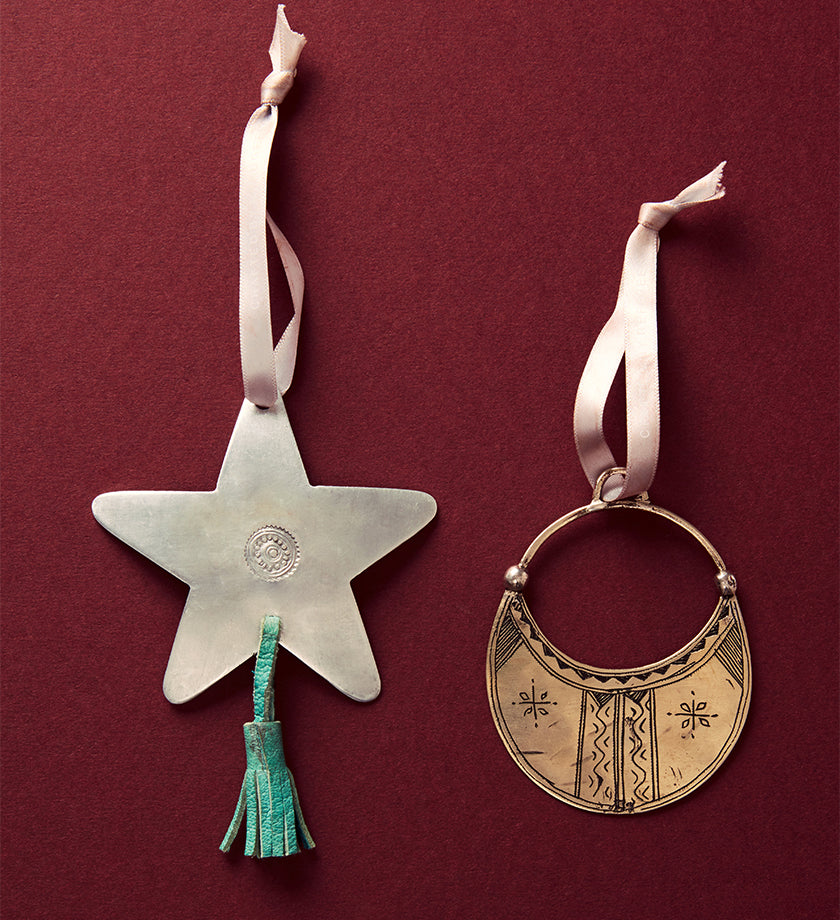 Desert Moon Ornament, Made by Tuareg refugees in Niger - UN Refugee Agency