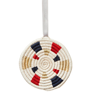 Radiant Circle Ornament, Made by Refugees in Burundi - UN Refugee Agency