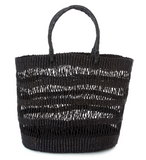 Raven Veta Vera Lace Weave Shopper with Leather Handles