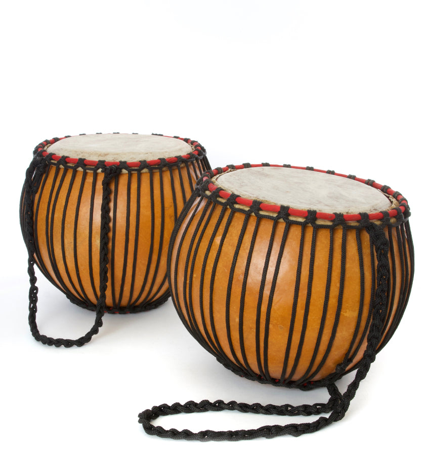 Limited Edition Ghanaian Calabash Hand Drum