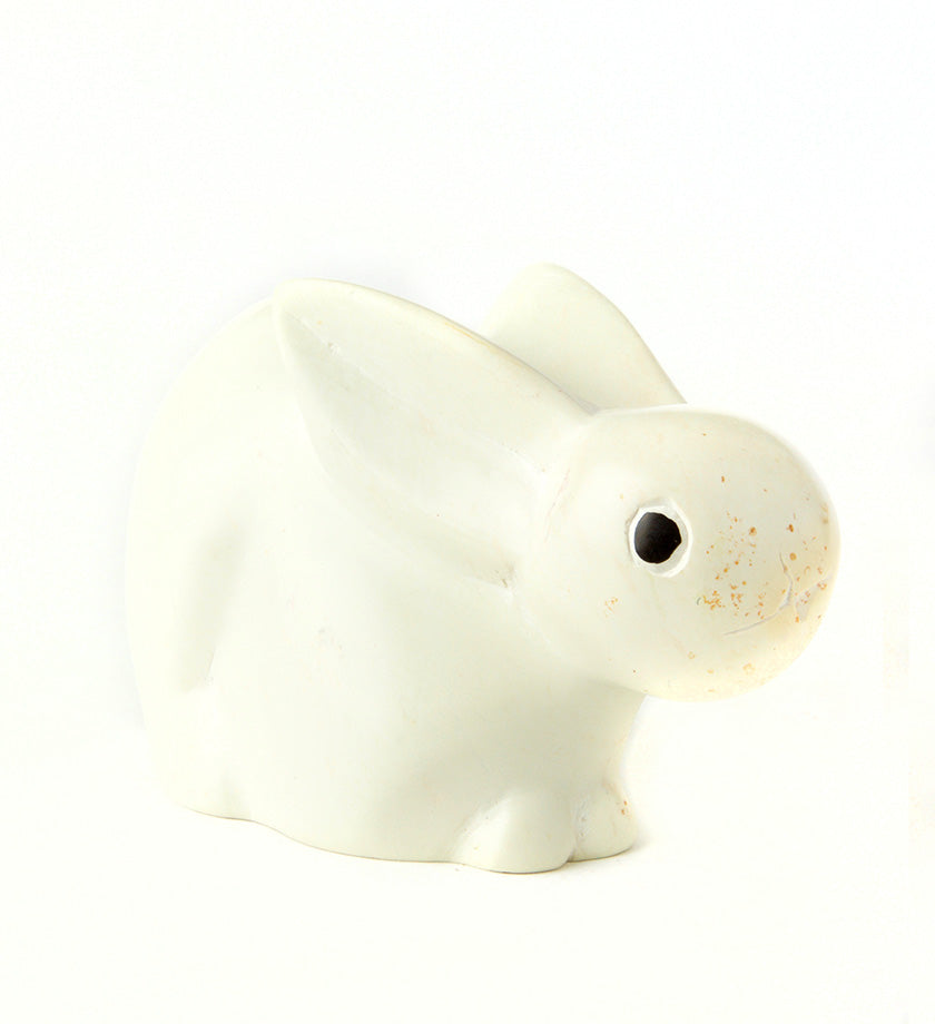 White Soapstone Bunny Rabbit