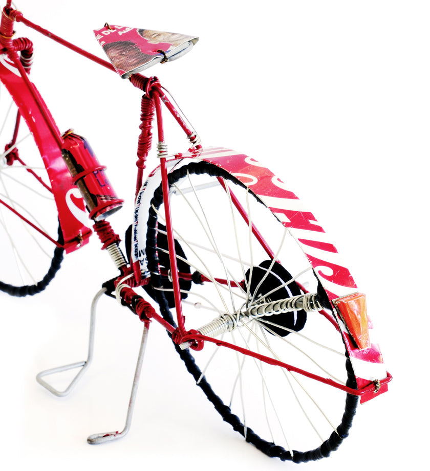Recycled Pop Can Bicycles