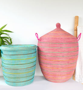 Sunrise Stripes Large Hamper