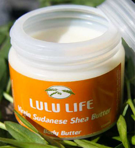 Lulu Life Virgin Sudanese Shea Butter - Skin Care Handmade in Africa - Swahili Modern - 1