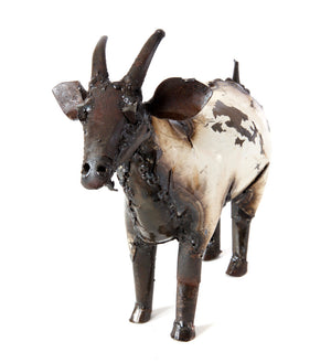Who's Got Your Goat? Oil Drum Sculptures