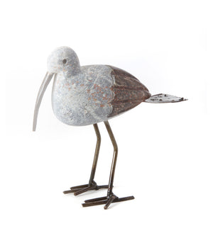 Stork of East Africa Springstone Stone Sculpture