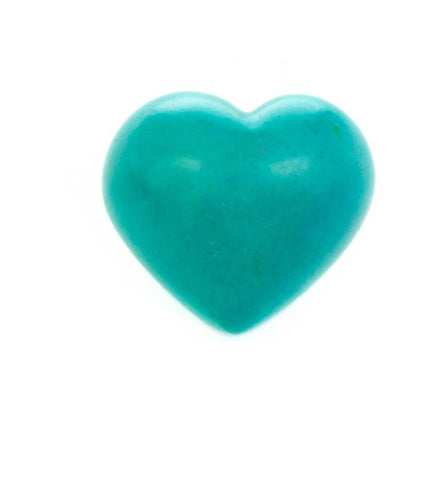 Solid Color Soapstone Hearts
