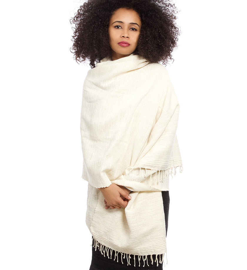 Natural Ethiopian Cotton Traditional Wrap