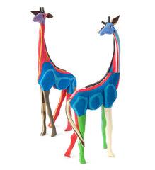 Small Recycled Flip Flop Giraffe Sculptures
