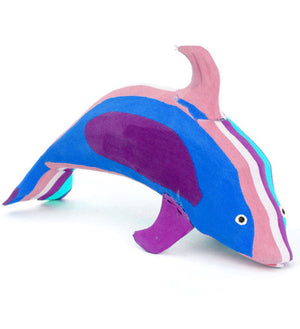 Playful Dolphin Flip Flop Sculptures
