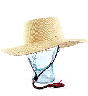 Natural Wide Brimmed Elephant Grass Bolga Sun Hat