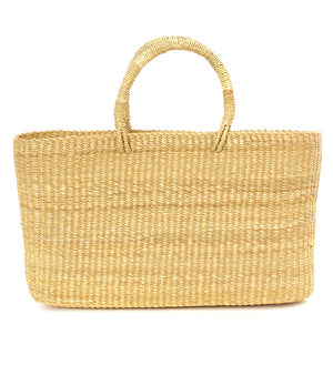 Natural Slim and Trim Ghanaian Tote