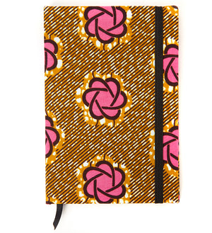 Ankara Wax Cloth Covered Journals and Sketchbooks