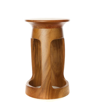 "Tweneboa Wood 18"" Portal Table"