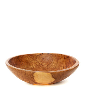Classic Olive Wood Salad Bowl