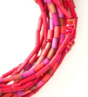 Women-Owned Multi-Strand Cause Necklace