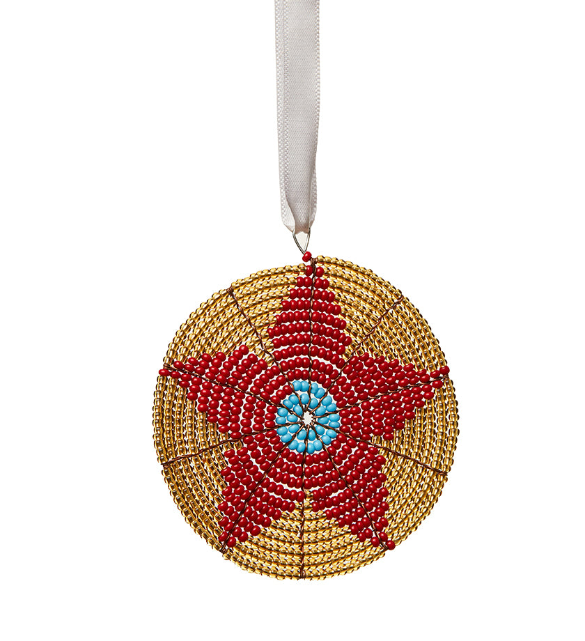 Blossom of Hope Ornament, Made by Refugees in South Sudan - UN Refugee Agency