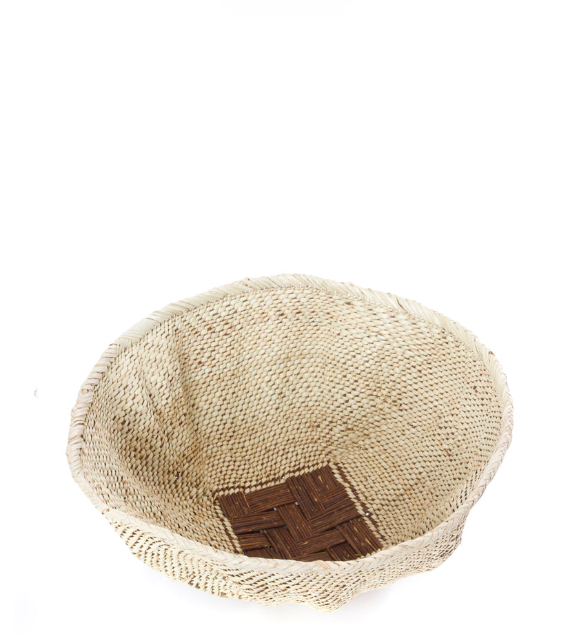 All-Natural Handwoven Addmo Basket
