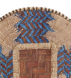 Small Blue River Batonga Wall Basket