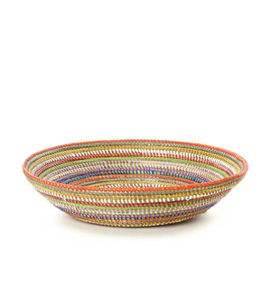 Rainbow Senegal Grain Baskets - Basket Handmade in Africa - Swahili Modern - 2