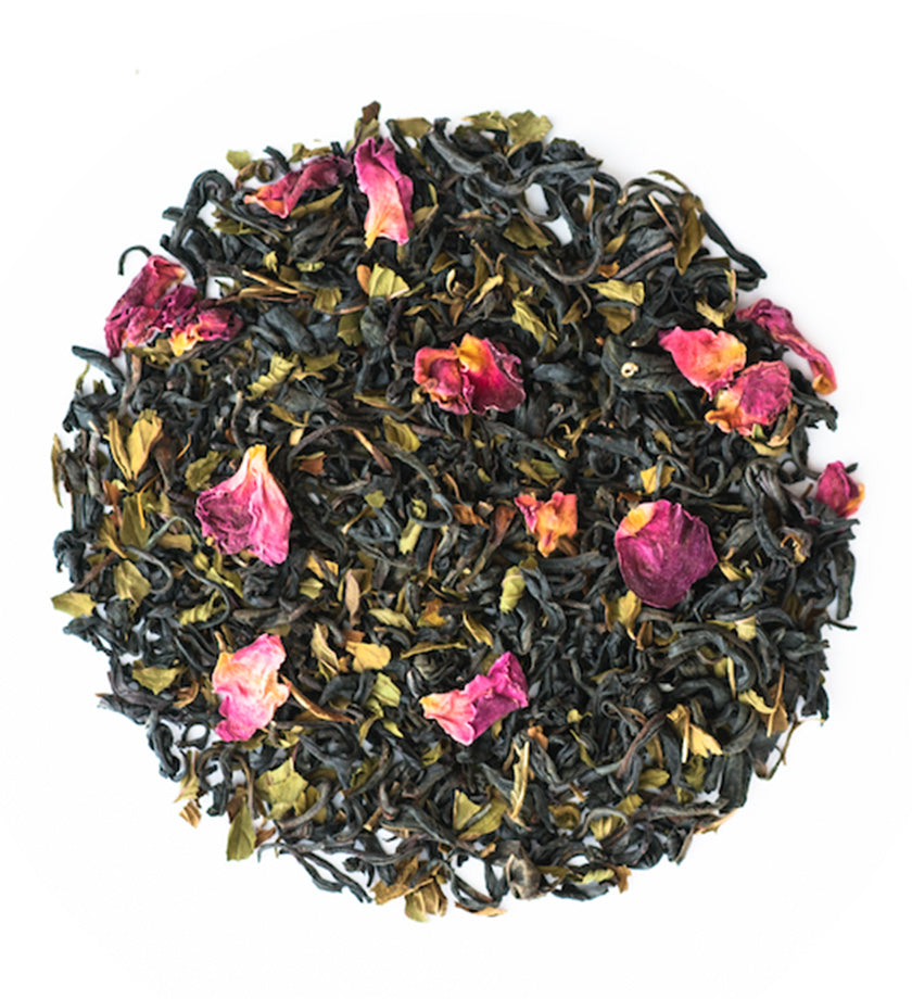 JusTea® Purple Mint Loose Leaf Tea