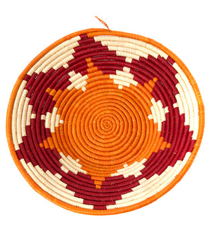 Sweet Potato and Sorghum Coiled Raffia Baskets