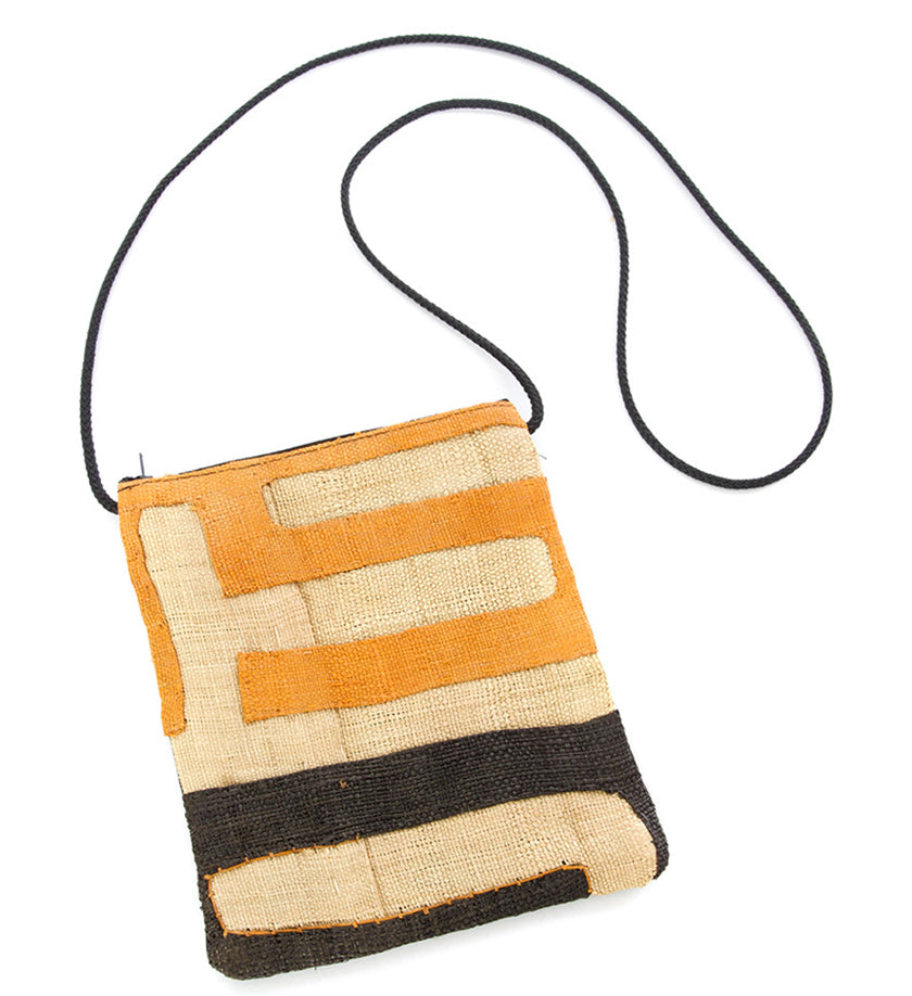 Unique Congo Raffia Crossbody Bag in Assorted Designs