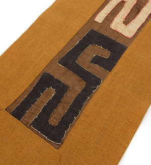Assorted Designs: Rust Hessian & Congo Raffia Table Runner