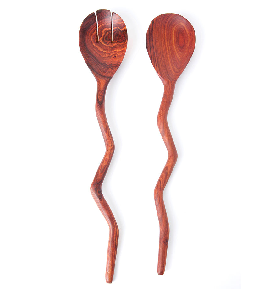 Winding River Teak Salad Servers
