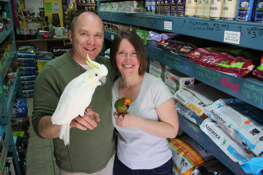 ONTARIO PARROT SHOP OWNER WANTS YOU TO FIND LOVE AT FIRST SQUAWK