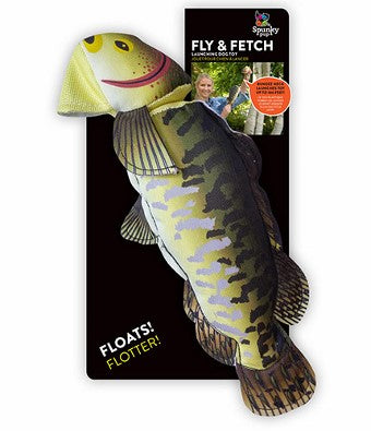 Spunky Pup Fly & Fetch Fish Dog Toy