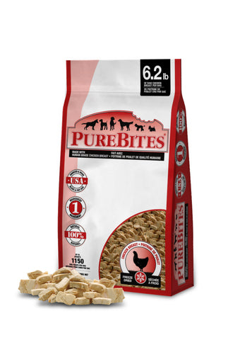 PureBites Chicken Liver Freeze Dried Dog Treats