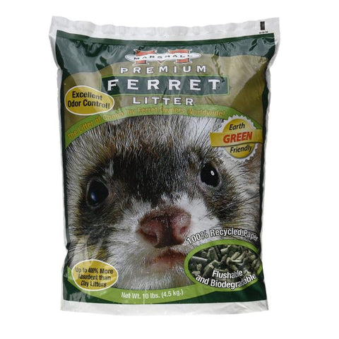 Marshall Premium Ferret Litter 10 lb - Exotic Wings and Pet Things
