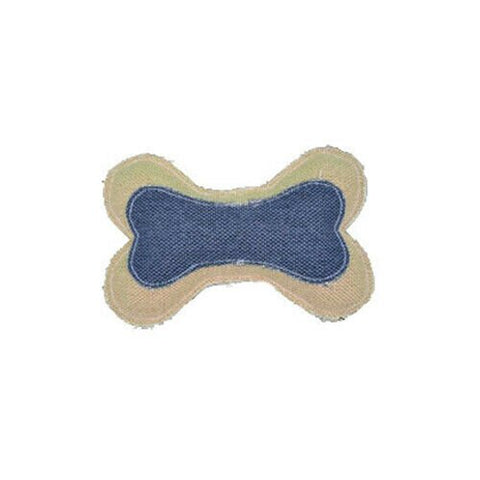 Amazing Canvas Bone 6.25 in. Dog Toy