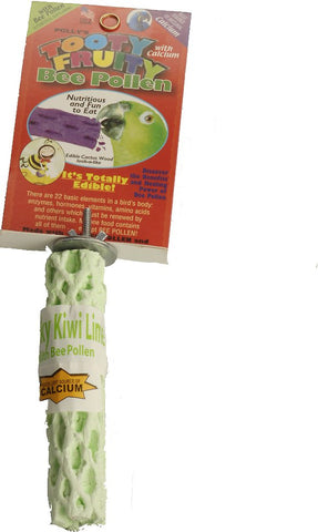 Polly's Pastel Tooty Fruity Bee Pollen Perches - Exotic Wings and Pet Things