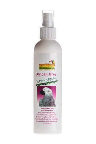 African Grey Bath Spray by Mango Pet Products - Exotic Wings and Pet Things