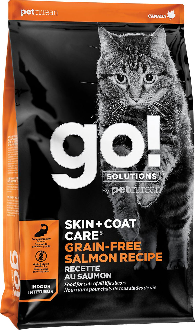 GO! Skin & Coat Care Grain Free Salmon Cat Recipe