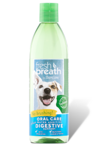 Tropiclean Fresh Breath Oral Care Plus Digestive Support 475 ml - Exotic Wings and Pet Things