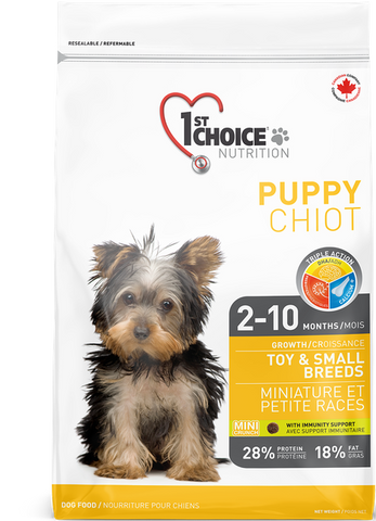 1st Choice Toy & Small Breed Growth Puppy Food