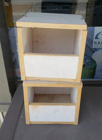 Used Finch Nesting Boxes