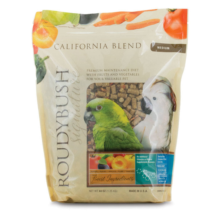 Roudybush California Blend Medium - Exotic Wings and Pet Things